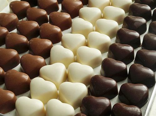 Heart Shaped Milk Chocolate