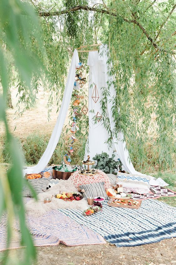 Mayan picnic in Cenote