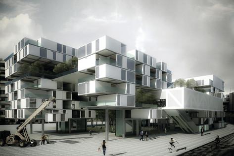 Multifunctional building in Tirana 6