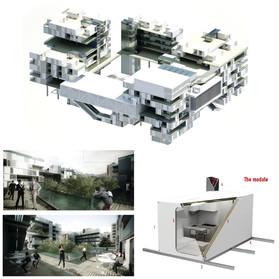 Multifunctional building in Tirana 4