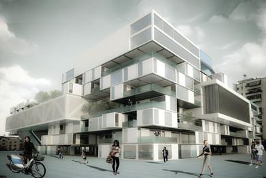 Multifunctional building in Tirana 8
