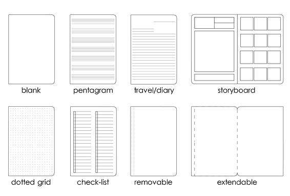 Notebook design void