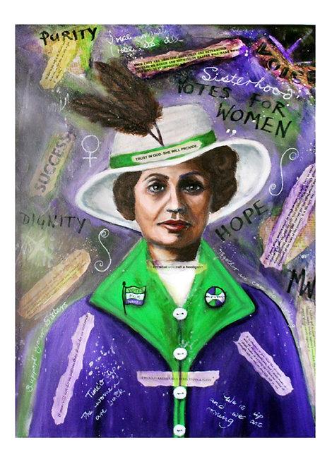 Tribute to Emmeline Pankhurst
