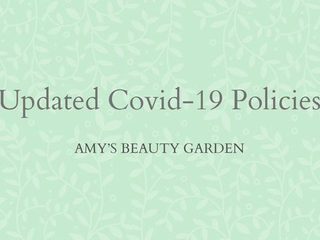 Updated Covid-19 Policies 2021