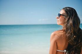 Strand mevrouw zonnebril