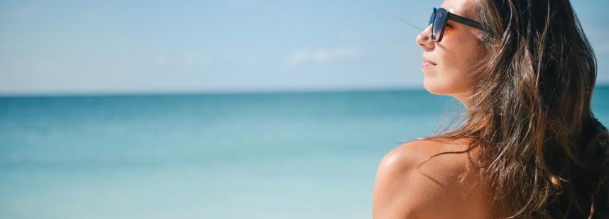 海邊的女人