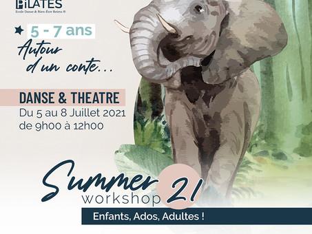 Stages d'été à l'Académie Danse Pilates à Reims