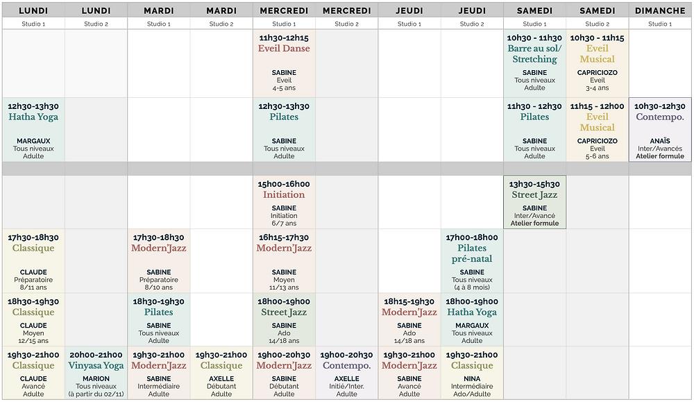 planning 20/21