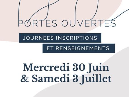 Portes Ouvertes & inscriptions 2021   2022 Académie Danse Pilates Reims