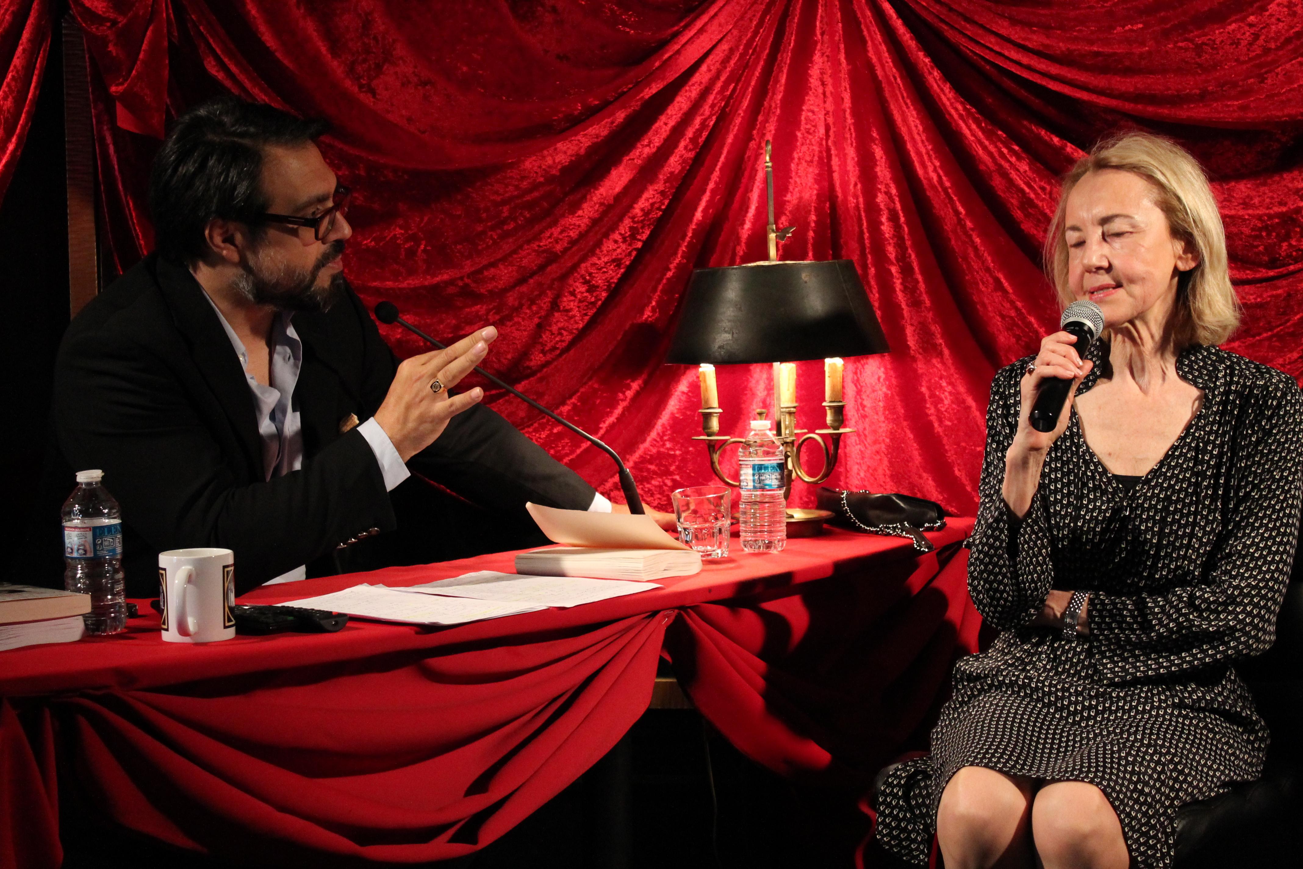 Interview avec Dominique Bona de l'Académie Française