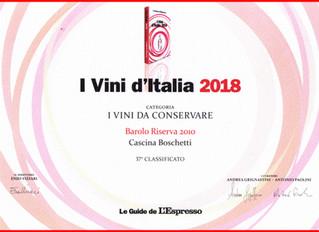 Barolo Boschetti Riserva 2010 ... Elegance does not age ! L'eleganza non ha età !