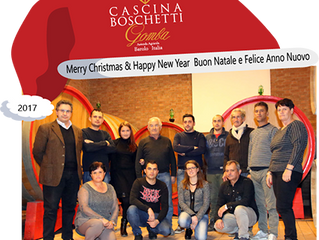 "Cascina Boschetti ""Family"" wish you a Merry Chistmas & Happy New Year"