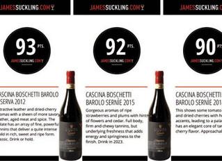 James Suckling: Barolo 2015 best vintage since 2010 – maybe better