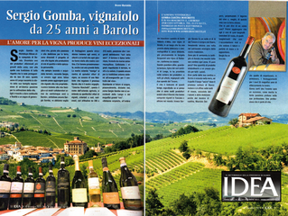 Sergio Gomba, vine grower in Barolo for 25 years