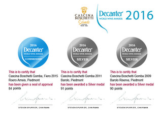 Decanter World Wine Awards 2016