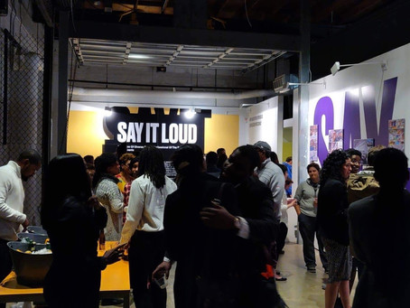 Excited to Share | Three SAY IT LOUD Exhibitions in November are on Display