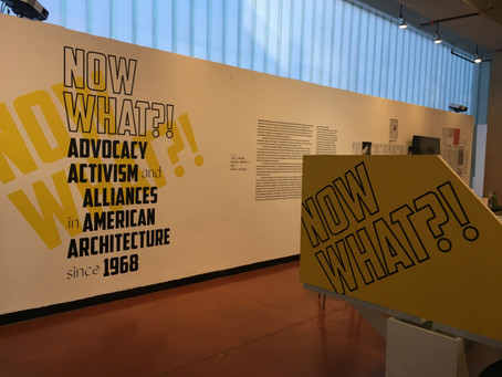 Excited to Share | Now What?! Advocacy Activism and Alliances in American Architecture Since 1968