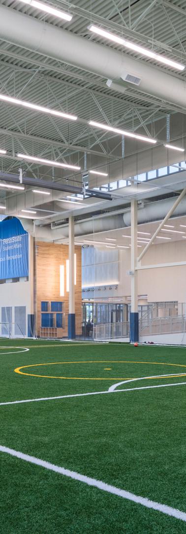 Penn State University Intramural Recreation Building, Phase 3