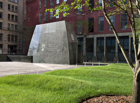 Disappointed to Share | The African Burial Ground National Monument Defaced
