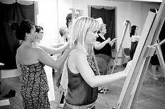 Paint n Sip Life Drawing Event