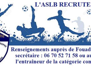 Lay / Bouxières recrute !