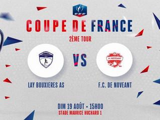 COUPE DE FRANCE - 2ème Tour : On vous attend nombreux dimanche à 15h00 !
