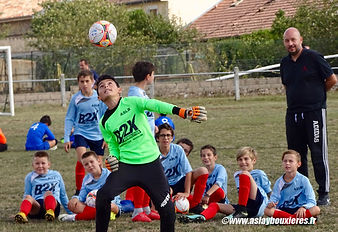 ASLB - COUPE U13 JAILLON le 22-09-2018