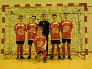 U15 - Tournoi Amical Futsal  : L'ASLB termine 2ème sur 10 !