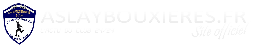 Site officiel de l'AS LAY BOUXIERES