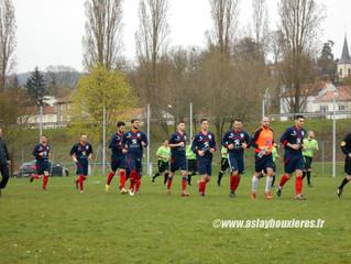 D1 : Match nul cruel contre Saulxures (2-2).