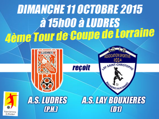 Coupe de Lorraine : ENCORE UNE P.H. !