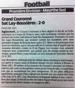 Est Républicain du 03/11/2014