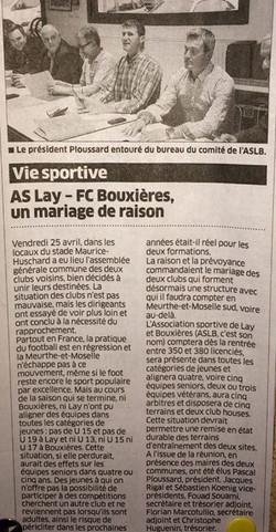 Est républicain du 04/05/2014