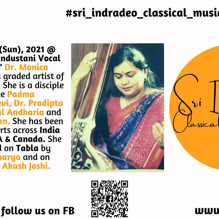 Hindustani Vocal Recital by 'Surmani' Dr. Monica Hiten Shah