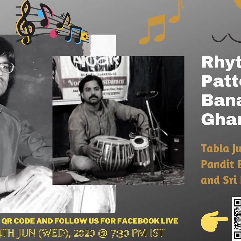 Rhythmic Patterns of Banaras Gharana - Tabla Jugalbandi by Pandit Bachan Pathak and Sri Dhiraj Tiwary