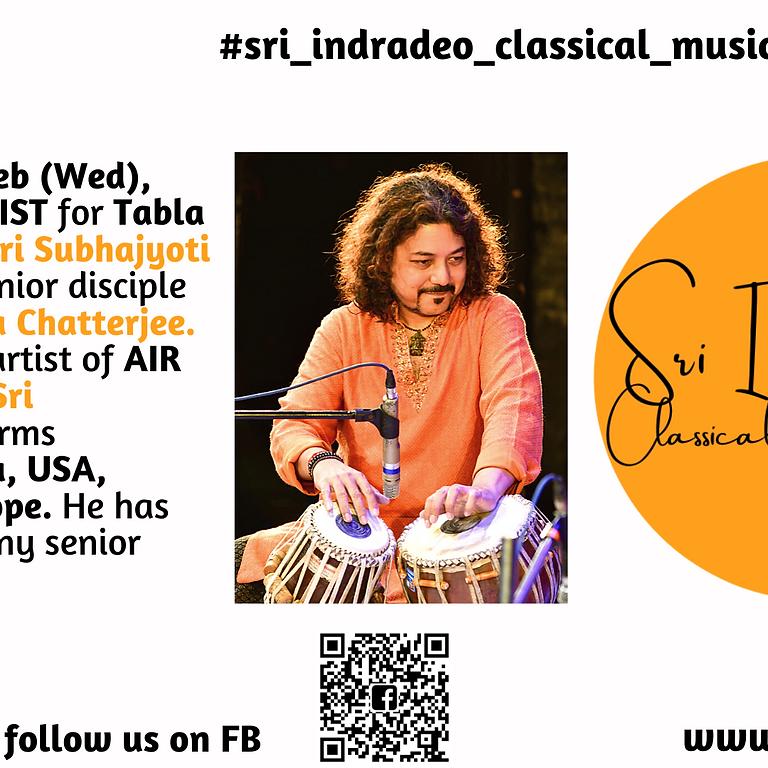 Tabla Solo Recital by Sri Subhajyoti Guha