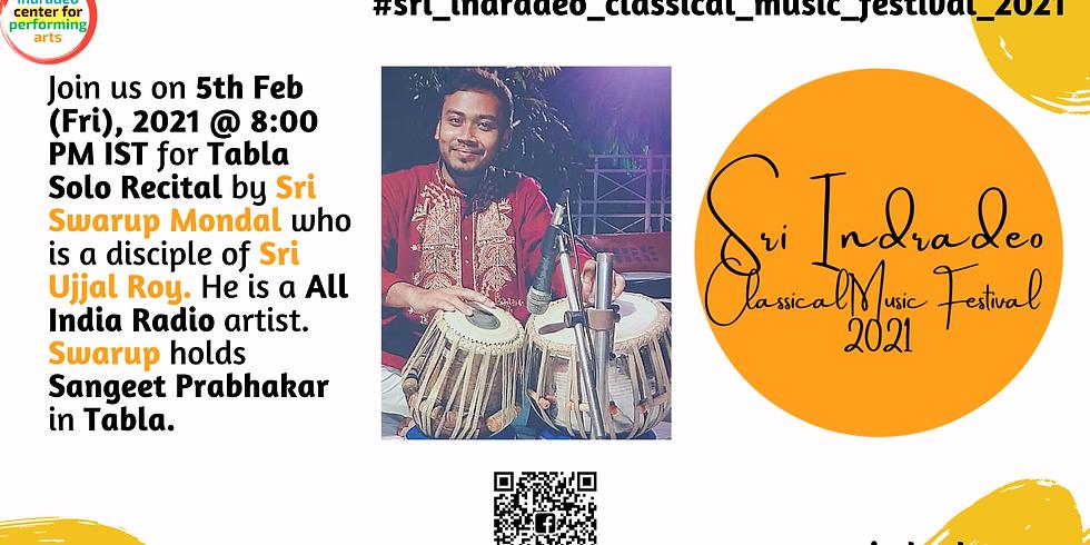 Tabla Solo Recital by Sri Swarup Mondal