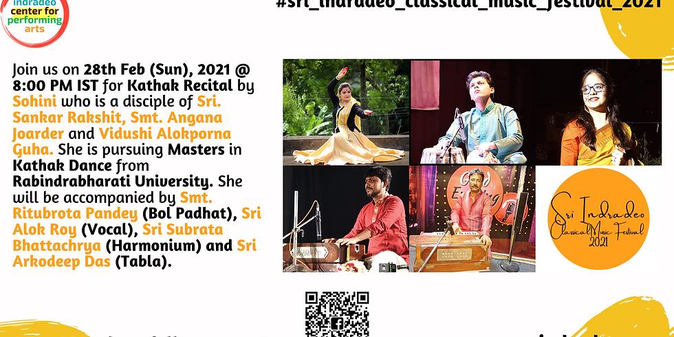 Kathak Recital by Sohini