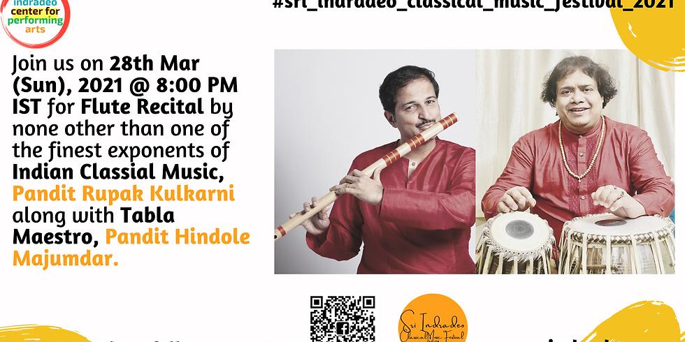 Flute Recital by Pandit Rupak Kulkarni