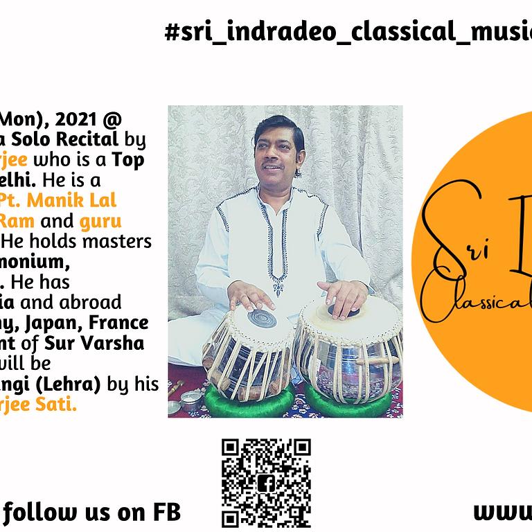 Tabla Solo Recital by Pandit Kishore Banerjee