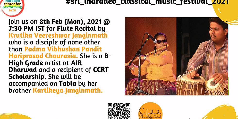 Flute Recital by Krutika Veereshwar Janginmath