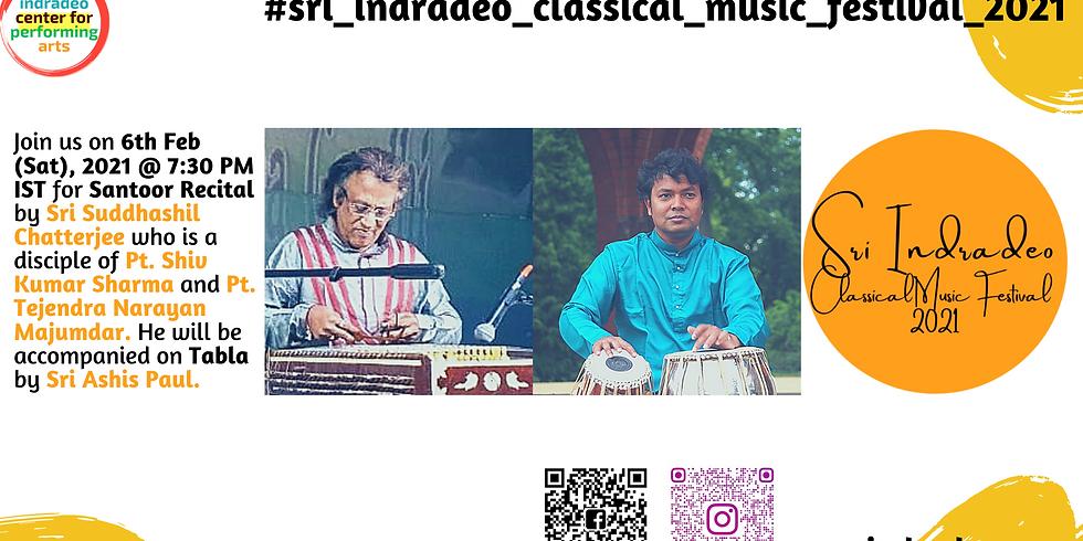 Santoor Recital by Sri Suddhashil Chatterjee