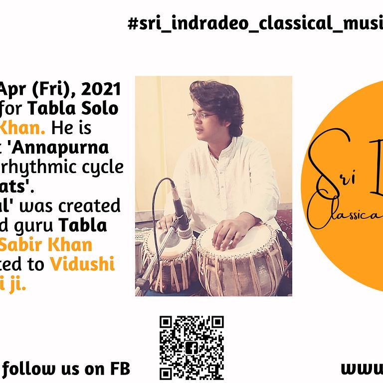 Tabla Solo Recital by Asif Khan