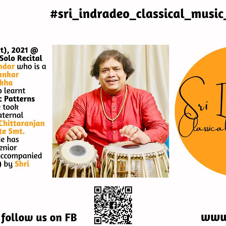 Tabla Solo Recital by Shri Hindole Majumdar