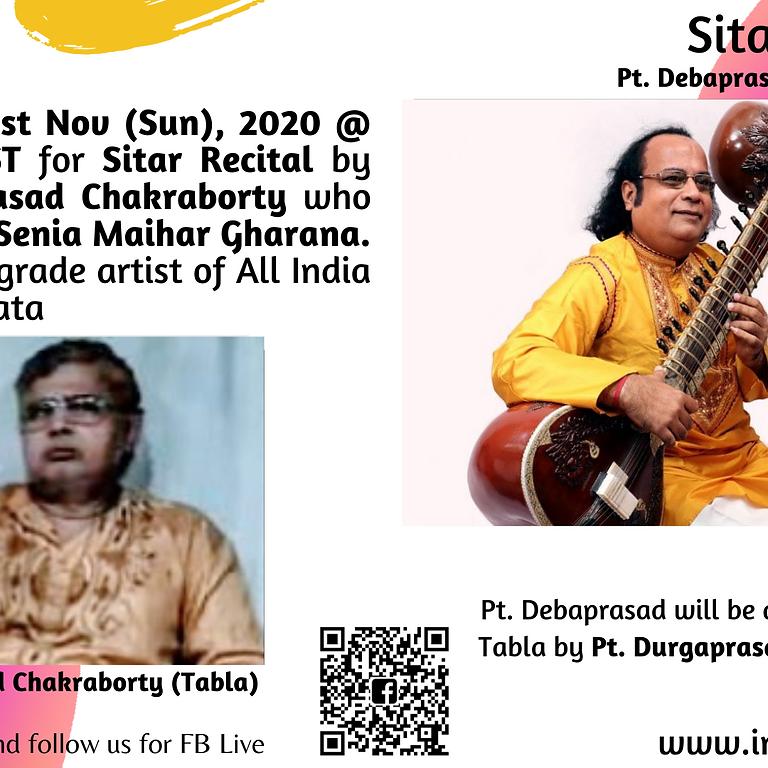 Sitar Recital by Pt. Debaprasad Chakraborty