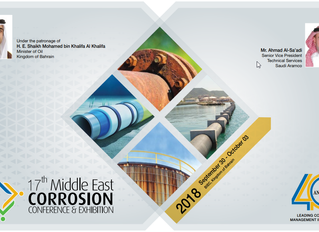 Attending Middle East Corrosion Conference
