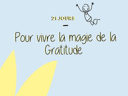 E-box - Vivre la magie de la gratitude