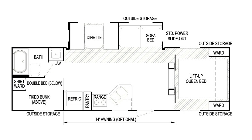 285 Layton floorplan