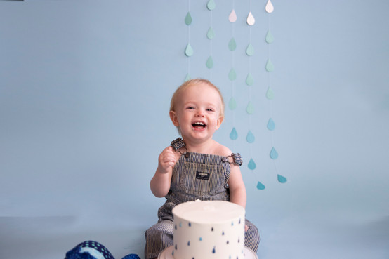 Giggly Baby Boy Turns One