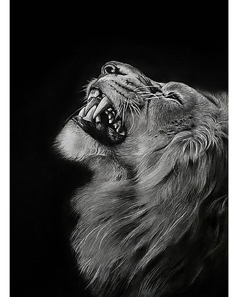 Anguish - Original in Watercolour and Graphite  -  82cm x 60cm - Portrait